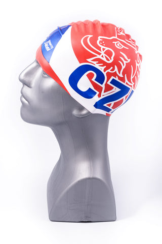 Czech Republic Swim Cap Red