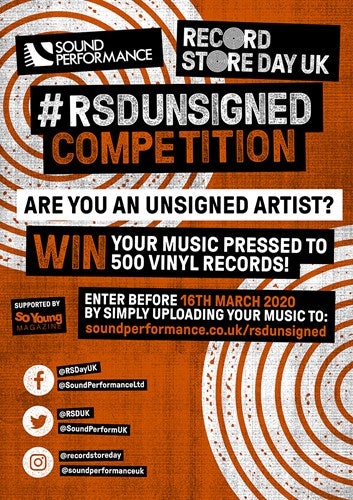 Record Store Day Unsigned Competition!