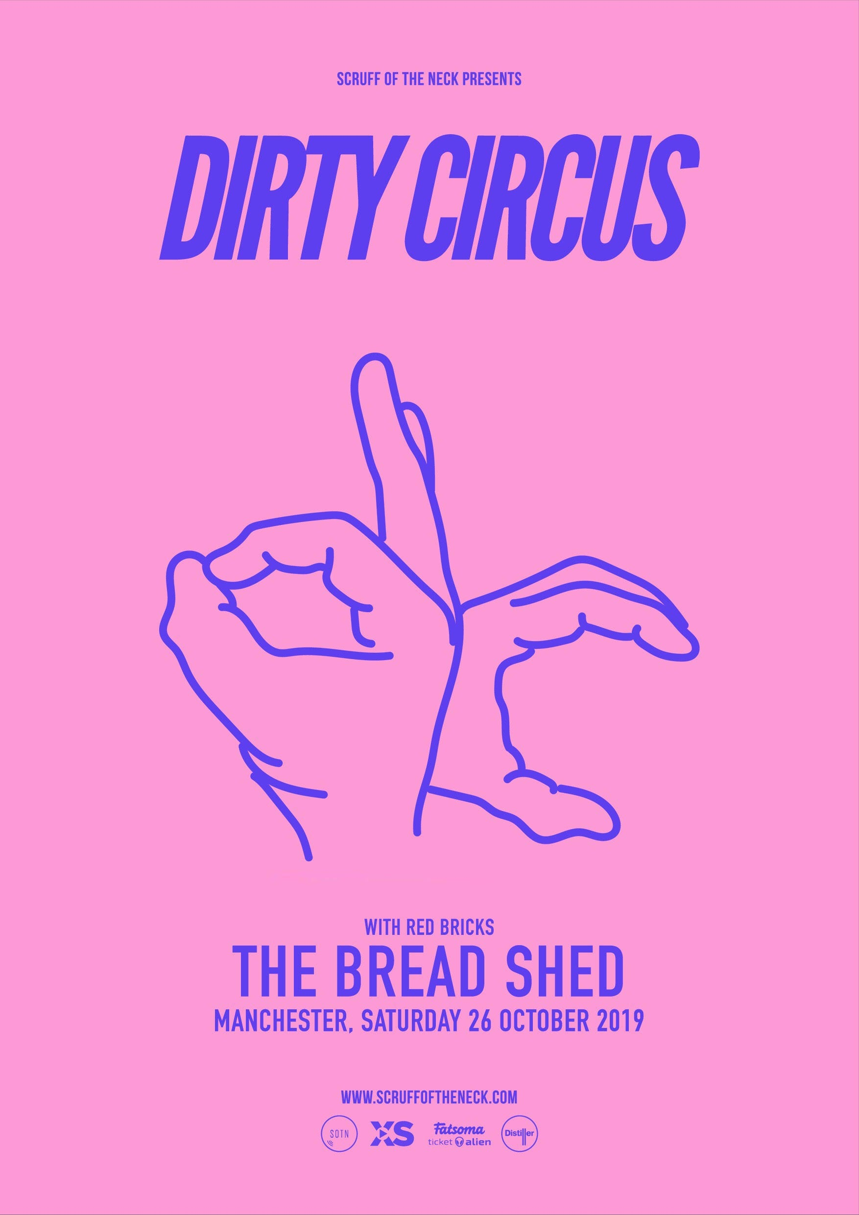 Dirty Circus Band - Debut Album Release & Upcoming Gig