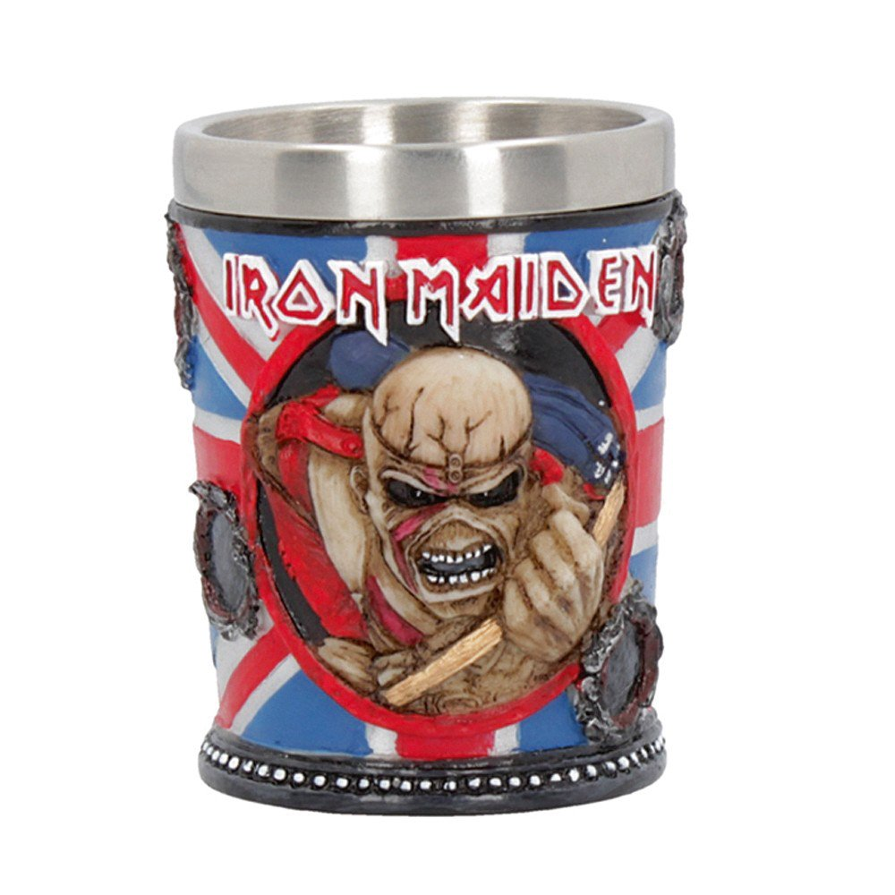 Iron Maiden Eddie Shot Glass Officially Licensed Merchandise