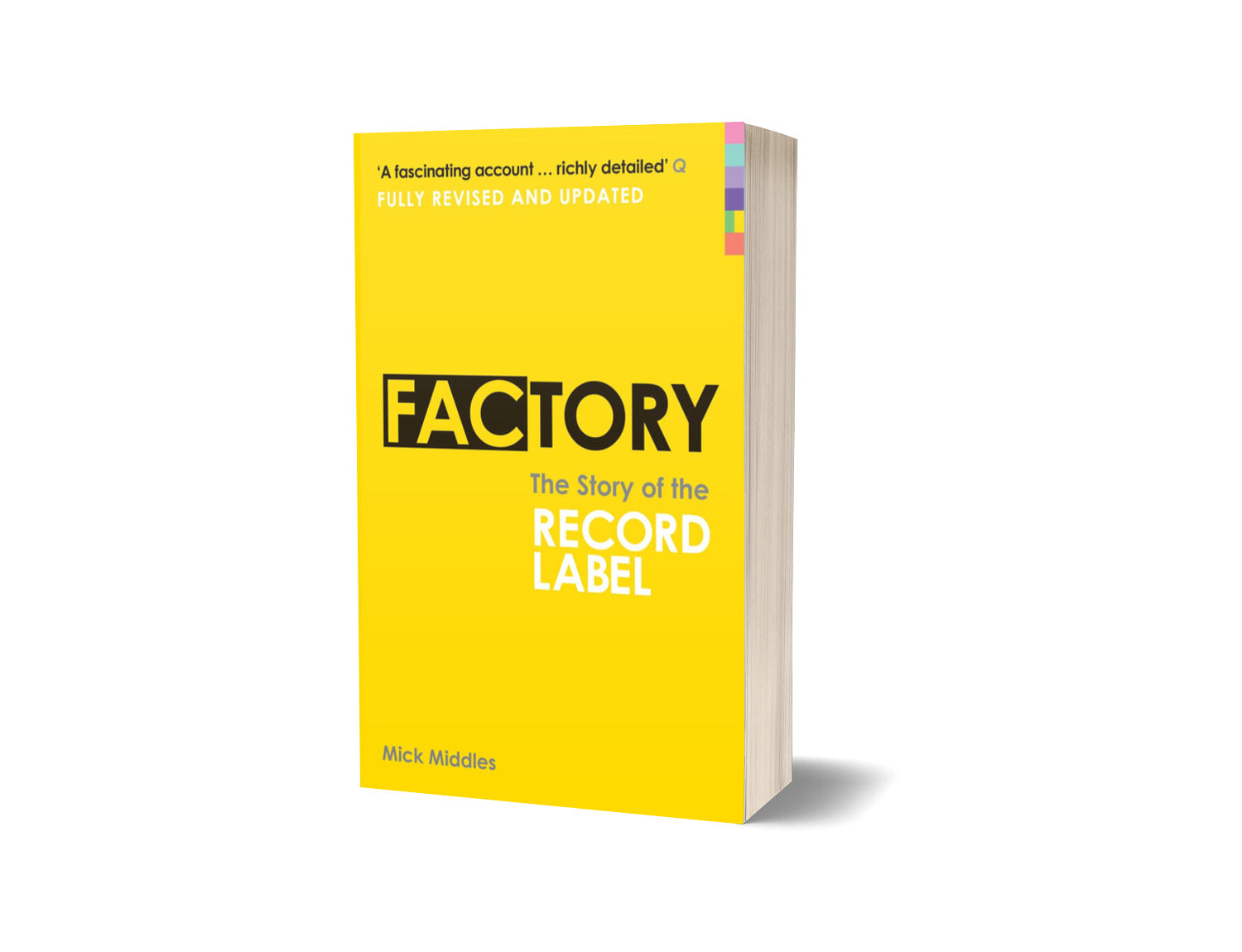 Factory: The Story of the Record Label Paperback Book