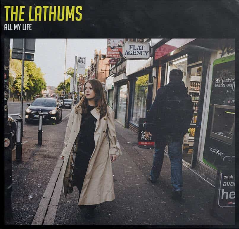"The Lathums - All My Life Limited Edition Transparent Colour 7"" Vinyl Record"