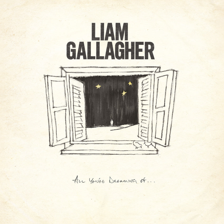 "Liam Gallagher - All You're Dreaming Of Limited Edition 12"" White Colour Vinyl Record Etched"