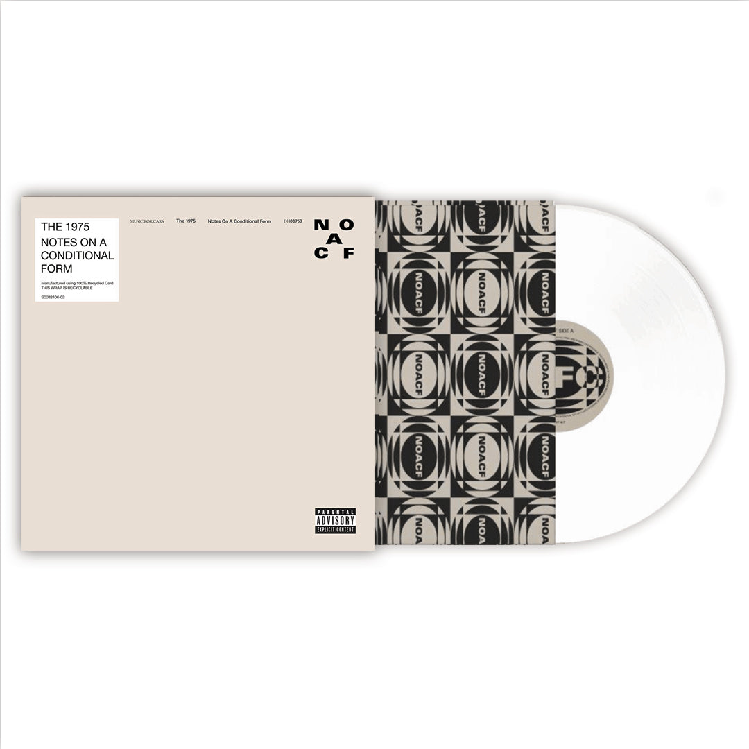 The 1975 -  Notes On A Conditional Form Limited Edition 2LP 140g White Colour Vinyl Record Album