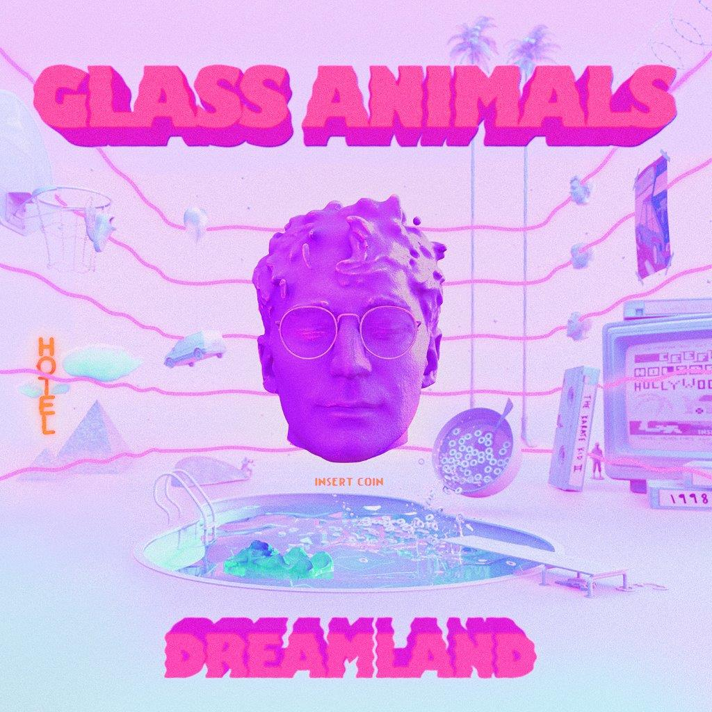 Glass Animals - Dream Land Limited Edition Blue Colour Heavyweight Vinyl Record Album