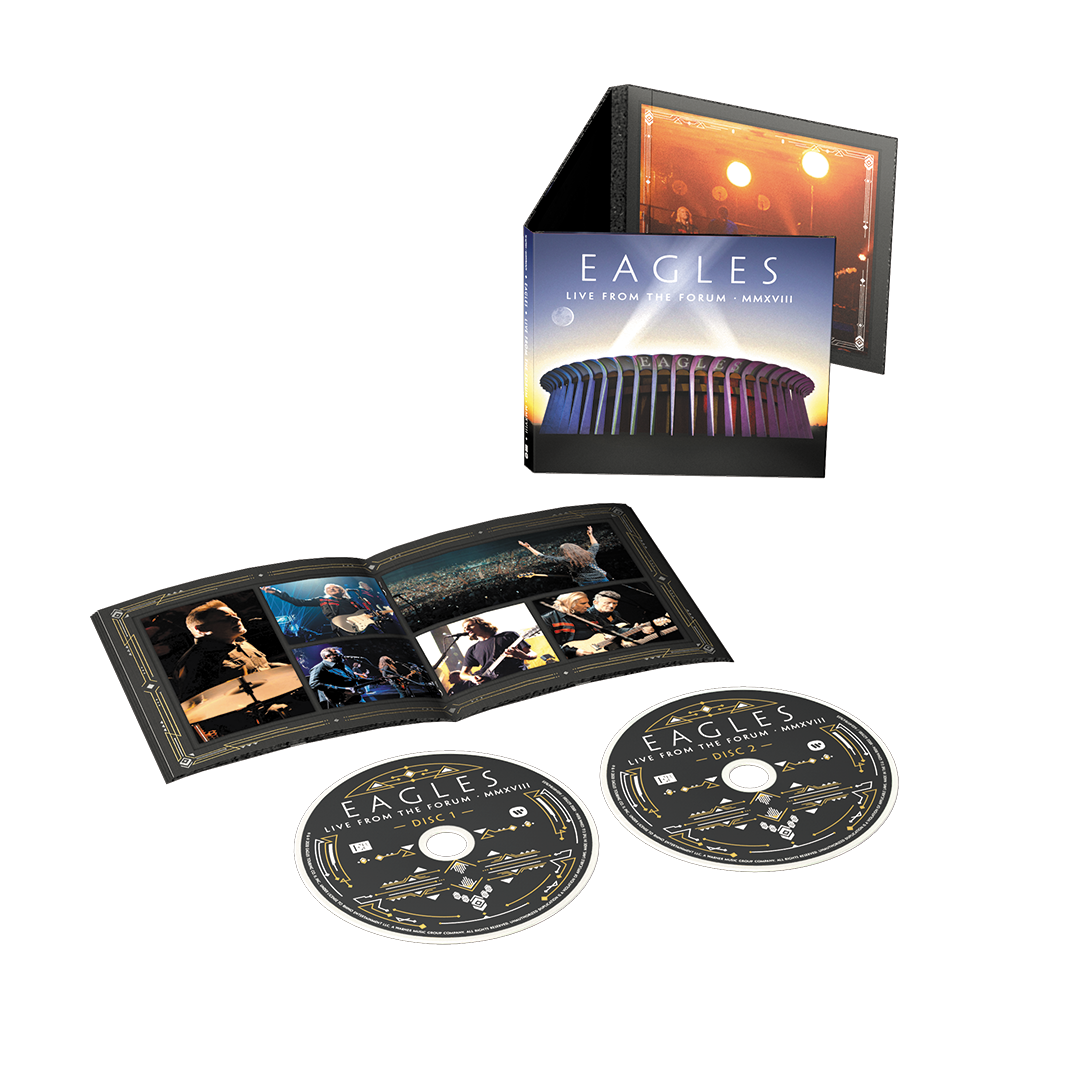 Eagles - Live From The Forum MMXVIII 2CD Softpack Album