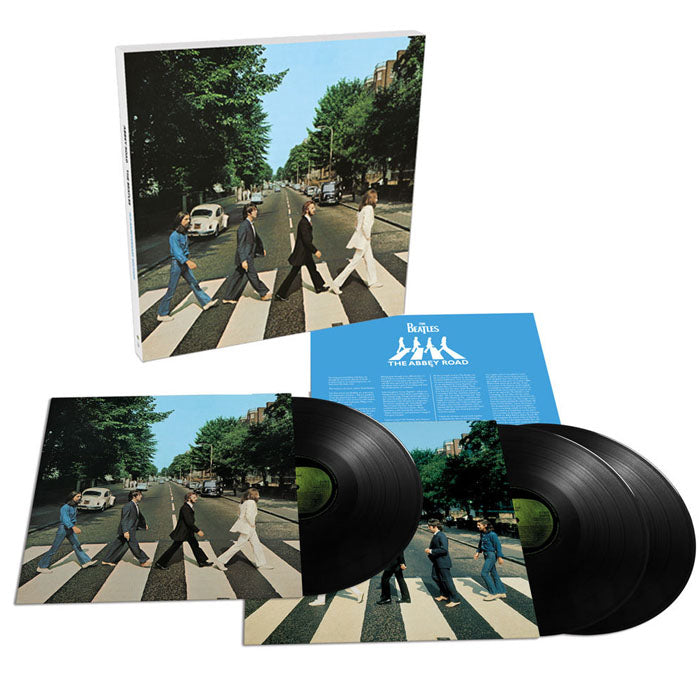 The Beatles - Abbey Road (50th Anniversary) Deluxe 3LP Vinyl Record Album Boxset, Vinyl, X-Records