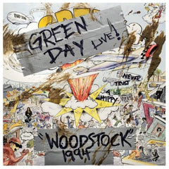 Green Day ‎– Woodstock 1994 RSD 2019 Limited Edition Vinyl Record, Vinyl, X-Records
