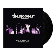 The Stooges - Live at Goose Lake August 8th 1970 Vinyl Record Album