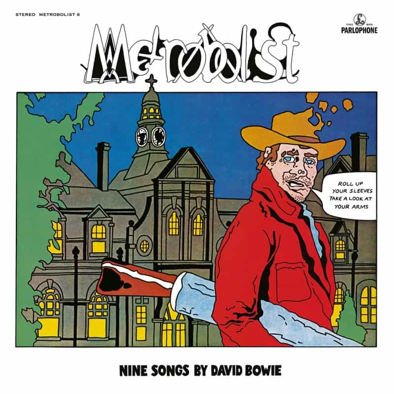 David Bowie - Metrobolist (aka The Man Who Sold The World) 2020 Mix Random Colour Vinyl Record Album