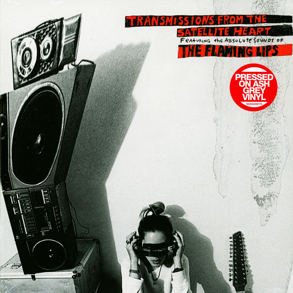 The Flaming Lips - Transmissions From The Satellite Heart Black & White (Ash Grey) Vinyl Record Album