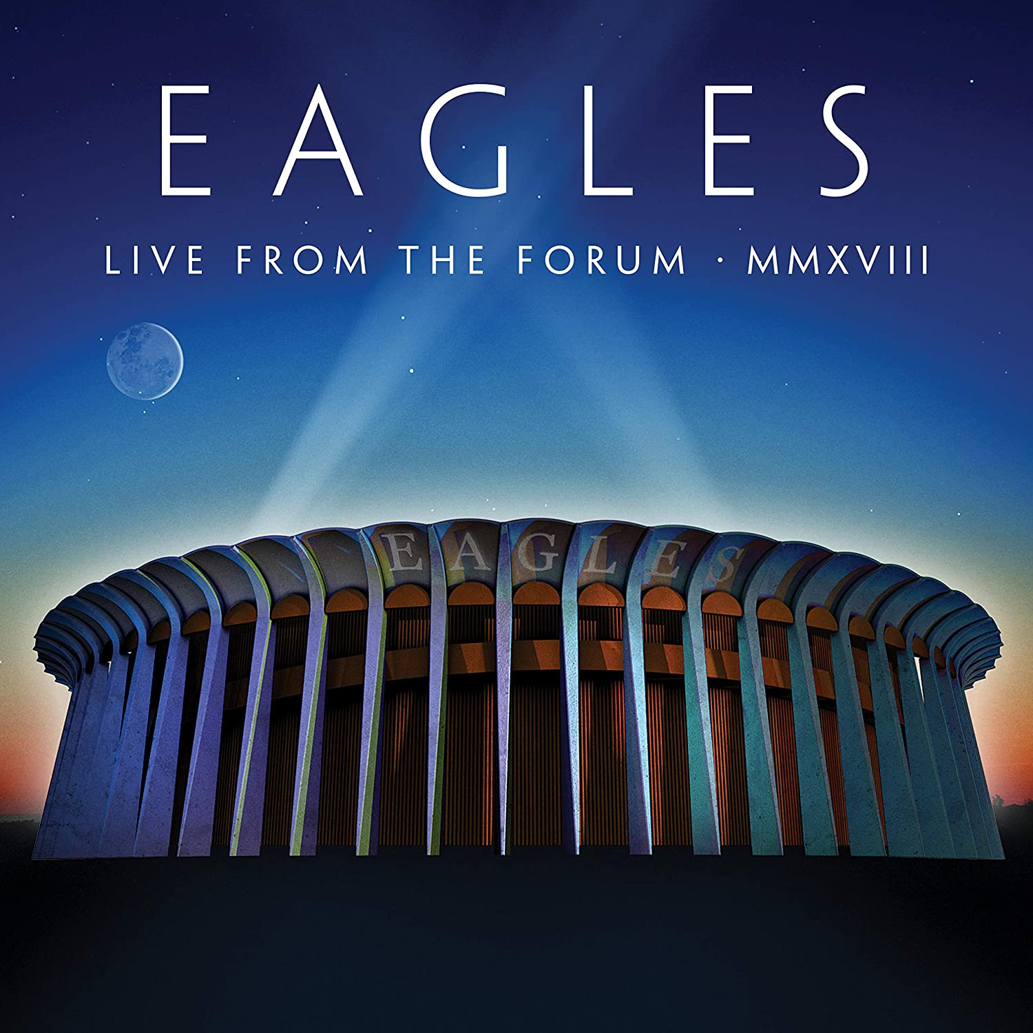 Eagles - Live From The Forum MMXVIII 180g 4LP Vinyl Record Box Set + 8-page book