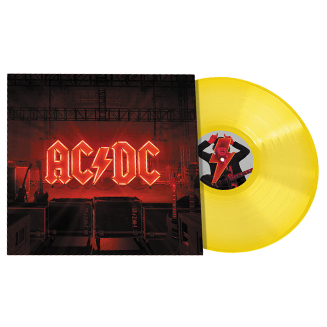 AC/DC - Power Up Limited Edition Yellow Colour Vinyl Record Album