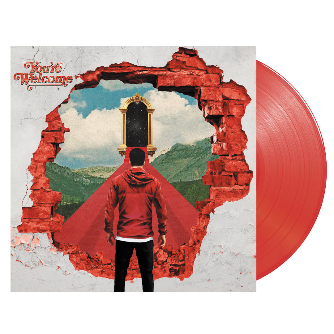 A Day To Remember - You're Welcome Apple Red Colour Vinyl Record Album