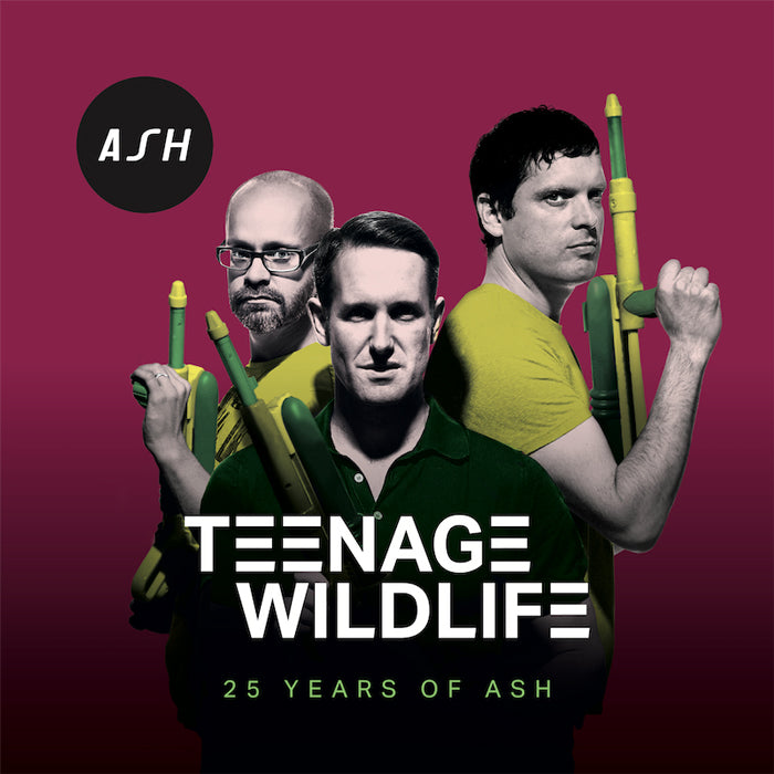 Ash - Teenage Wildlife (25 Years of Ash) 2LP Vinyl Record Album