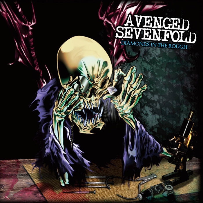 Avenged Sevenfold	- Diamonds In The Rough 140g 2LP Clear Colour Vinyl Record Album