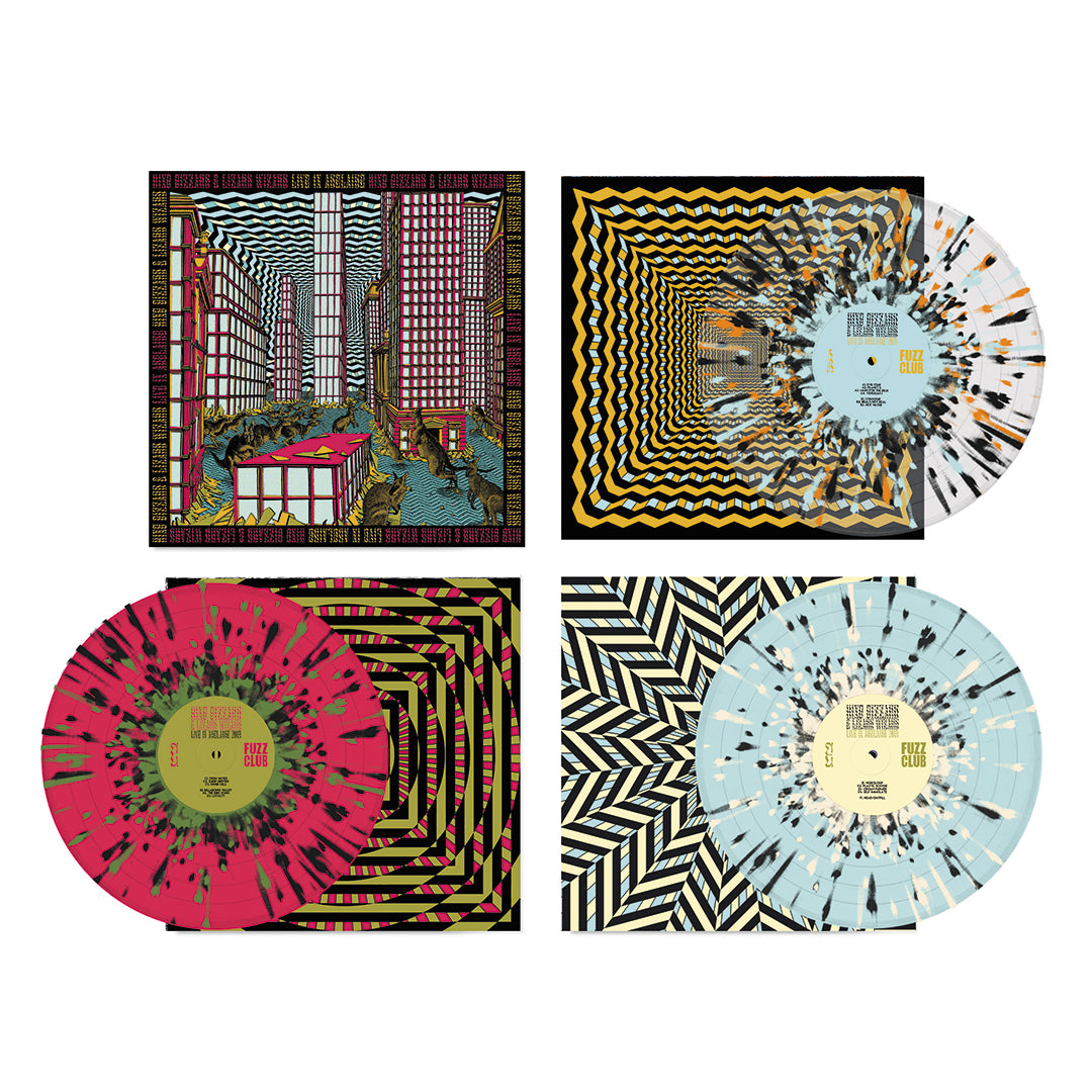 King Gizzard & The Lizard Wizard Live In Adelaide '19 3LP Splatter Colour Vinyl Record Box Set
