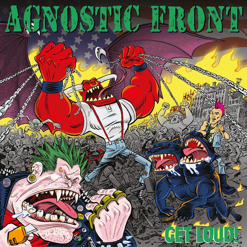 Agnostic Front ‎– Get Loud! Limited Edition Picture Disc Vinyl Record Album
