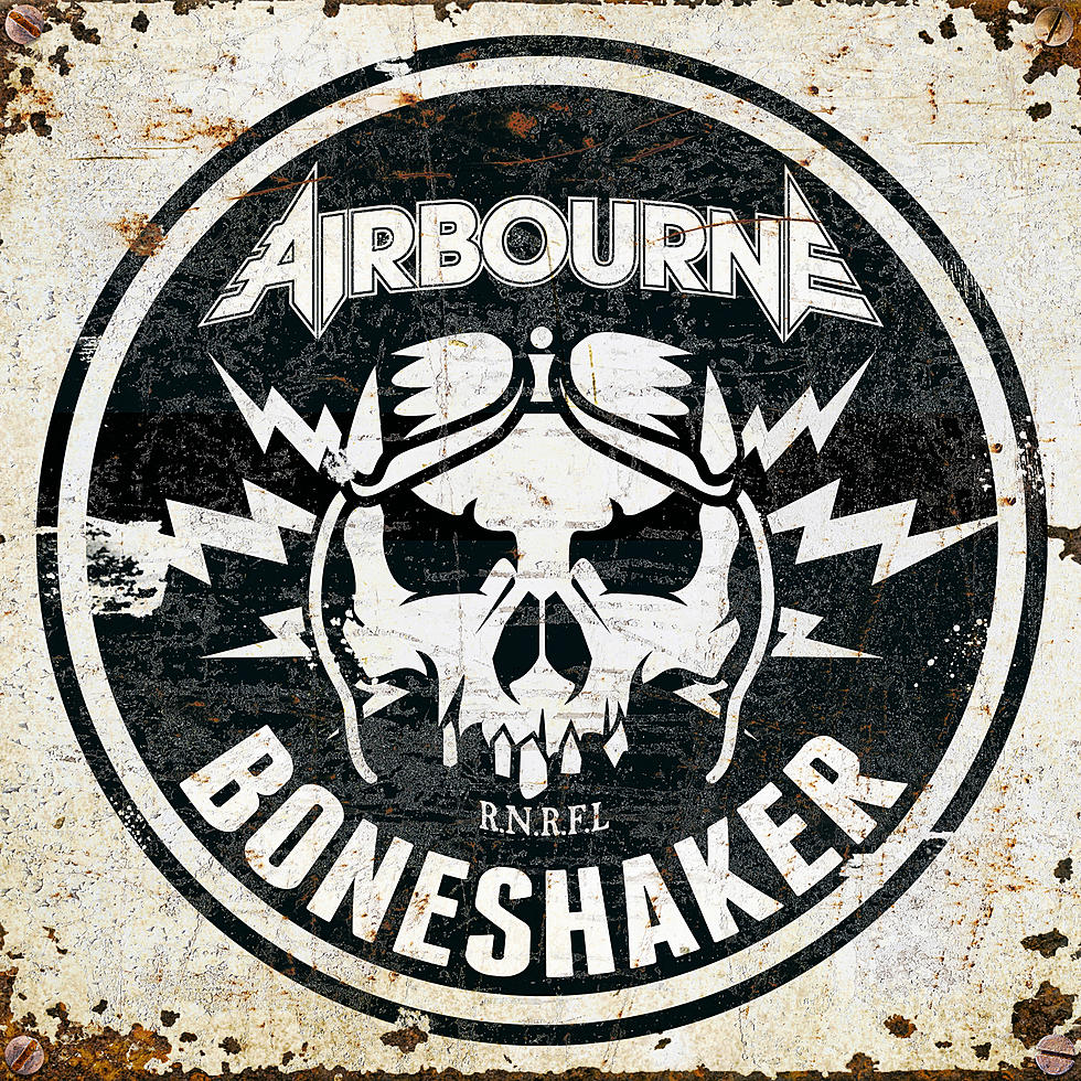 Airbourne ‎– Boneshaker Limited Edition Colour Vinyl Record Album