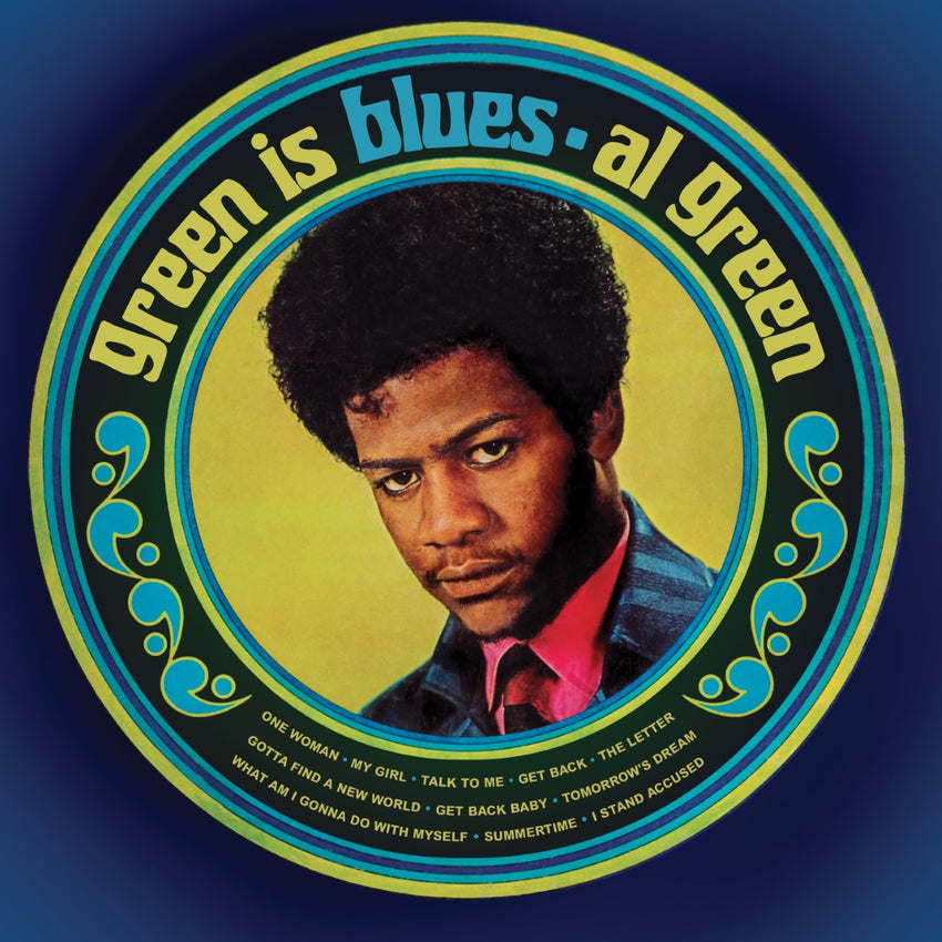 Al Green - Green Is Blues (RSD 2020 Drop One) 180g Split Green Blue Colour Vinyl Record