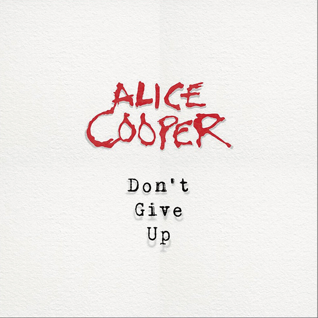 "Alice Cooper - Don't Give Up Limited Edition Picture Disc 7"" Vinyl Record"