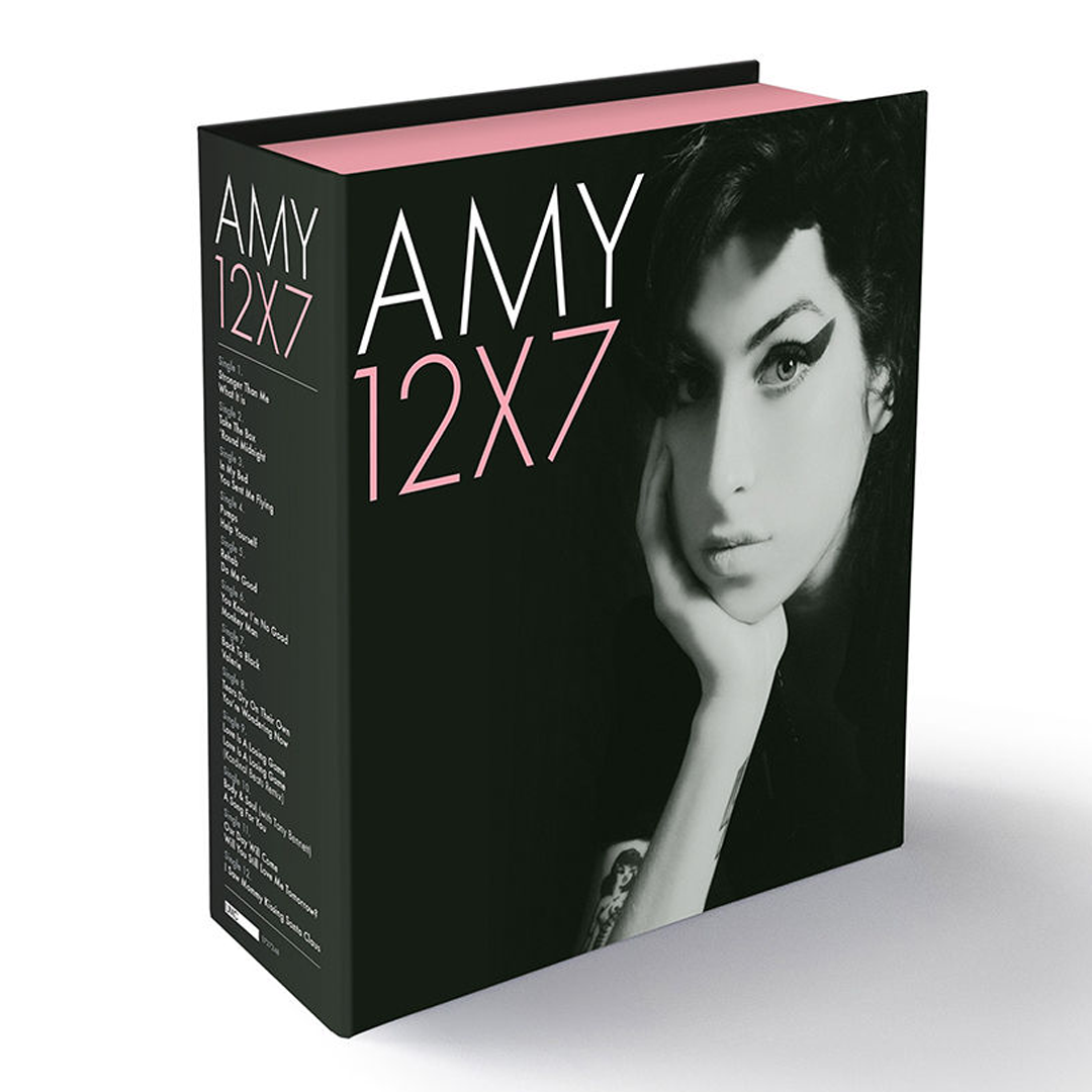 "Amy Winehouse - The Singles Collection 12 x 7"" Vinyl Record Box Set"
