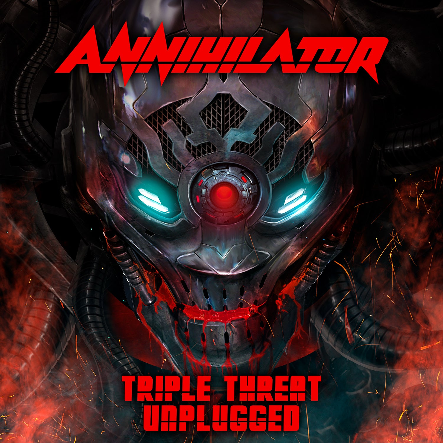 Annihilator - Triple Threat Unplugged (RSD 2020) Picture Disc Vinyl Record Album