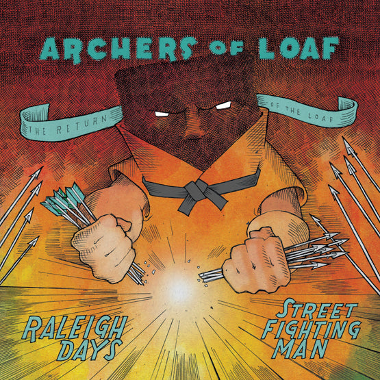 "Archers of Loaf - Raleigh Days b/w ""Street Fighting Man"" (RSD 2020 Drop One) 7"" Vinyl Record"