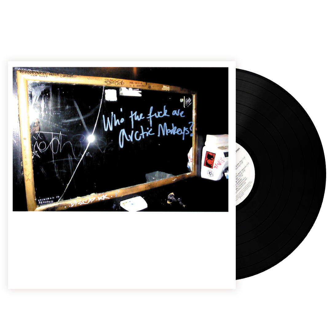 "Arctic Monkeys ‎– Who The Fuck Are Arctic Monkeys? 10"" Vinyl Record EP"