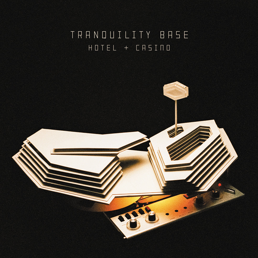 Arctic Monkeys ‎– Tranquility Base Hotel + Casino Clear Colour Vinyl Record Album