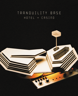 Arctic Monkeys - Tranquility Base LRS Limited Edition Silver Colour Vinyl Record Album