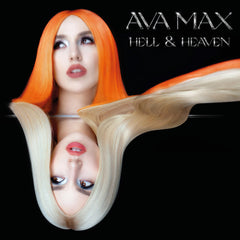 Ava Max - Heaven & Hell Limited Edition Transparent Orange Colour Vinyl Record Album