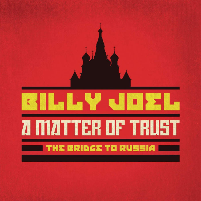Billy Joel ‎– A Matter Of Trust - The Bridge To Russia Deluxe Edition 2CD Blu-ray Box Set