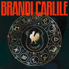 "Brandi Carlile - A Rooster Says (RSD 2020 Drop Two) 12"" Etched Black Hole Colour Vinyl Record"