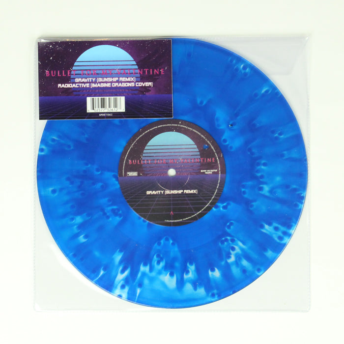 "Bullet For My Valentine ‎– Gravity (Gunship Remix) / Radioactive 10"" Colour Vinyl Record, Vinyl, X-Records"
