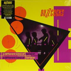 Buzzcocks - A Different Kind Of Tension 180g Yellow Colour Vinyl Record Album