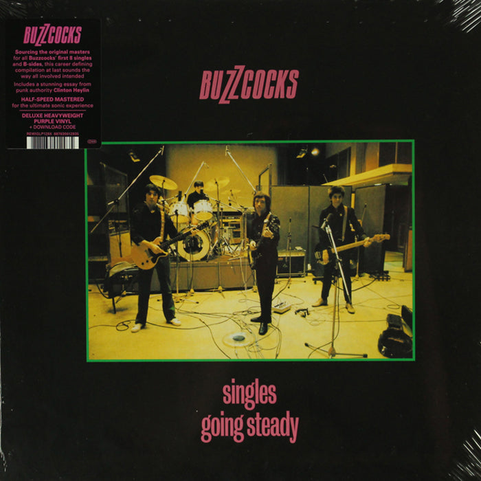 Buzzcocks - Singles Going Steady Remastered Purple Colour Vinyl Record Album, Vinyl, X-Records
