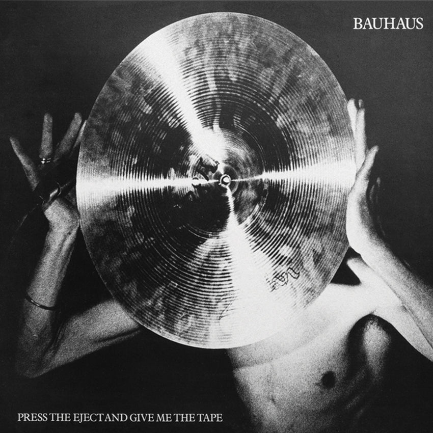Bauhaus - Press The Eject And Give Me The Limited Edition White Colour Vinyl Record Album