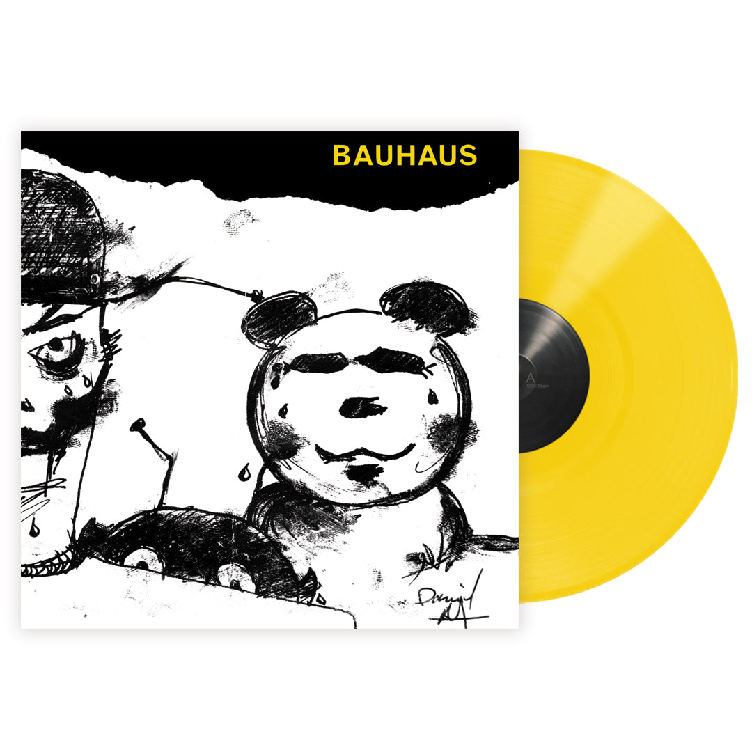 Bauhaus - Mask Limited Edition Yellow Colour Vinyl Record Album