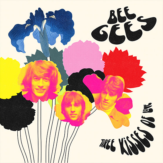 Bee Gees - Three Kisses Of Love (RSD 2021 Drop Two) 180g Yellow Colour Vinyl Record Album