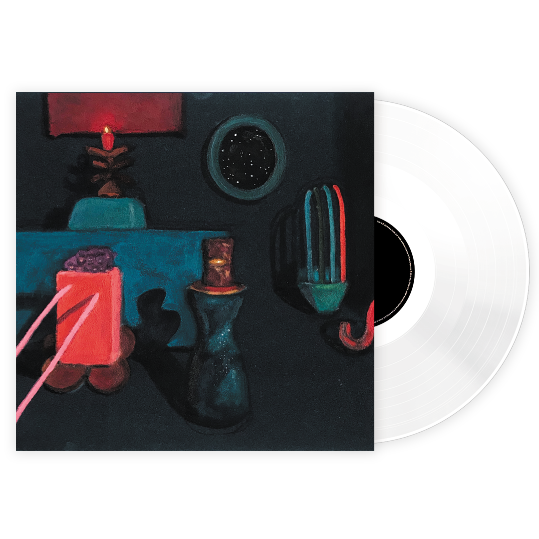 Qasim Naqvi - Beta LRS Limited Clear Colour Vinyl Record Album