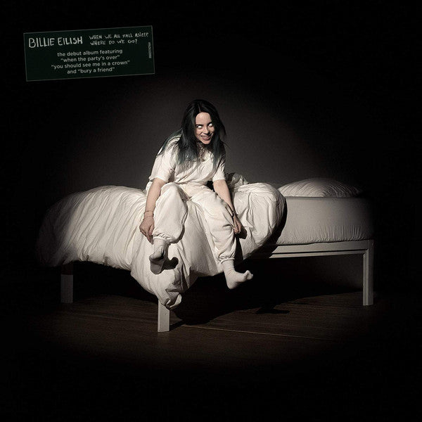 Billie Eilish ‎– When We All Fall Asleep, Where Do We Go? Apricot Colour Vinyl Record Album