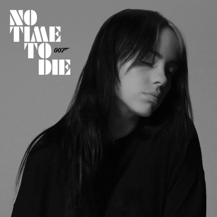 "Billie Eilish - No Time To Die Smoke Grey Colour 7"" Vinyl Record"
