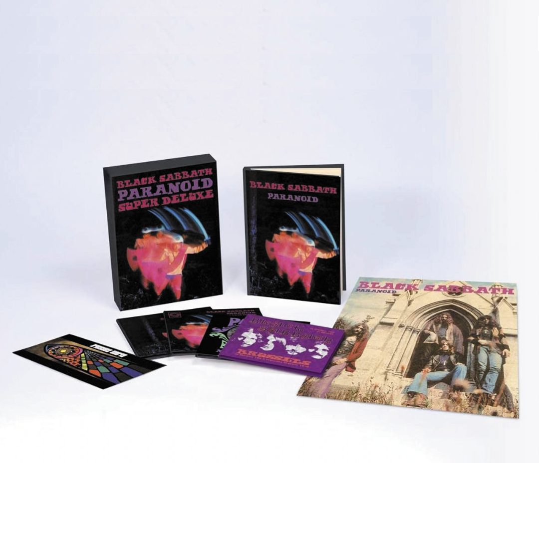 Black Sabbath	- Paranoid (50th Anniversary Edition) 4CD Super Deluxe Box Set
