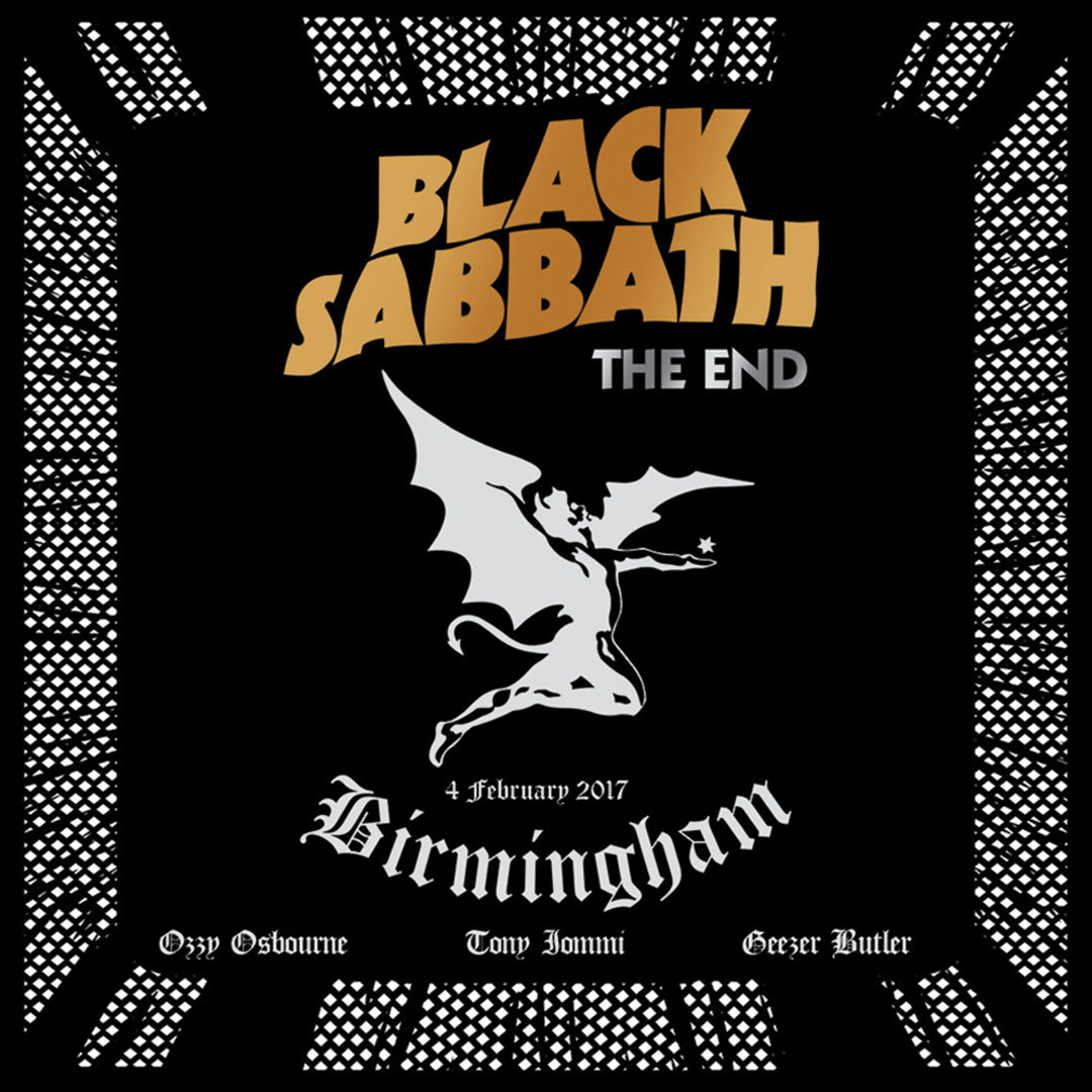 Black Sabbath - The End 3LP 180g Colour Vinyl Record Album
