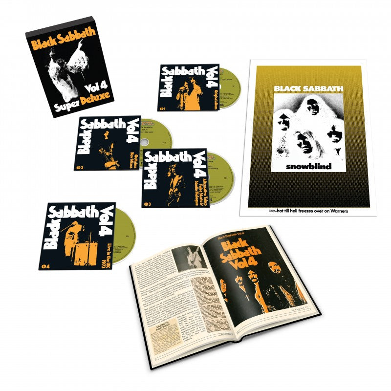 Black Sabbath - Vol. 4 Super Deluxe CD Box Set