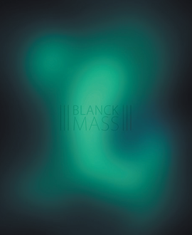 Blanck Mass - Blanck Mass LRS Limited Blue & Green Starburst Colour Vinyl Record