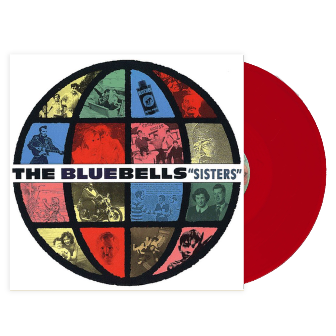 The Bluebells - Sister Limited Edition Red Colour Vinyl Record Album