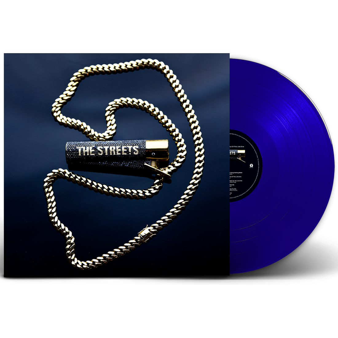 The Streets - None Of Us Are Getting Out This Life Alive Exclusive 180g Blue Colour Vinyl Record Album