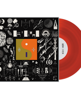 Bon Iver - 22, A Million LRS Limited Edition Red Colour Vinyl Record Album